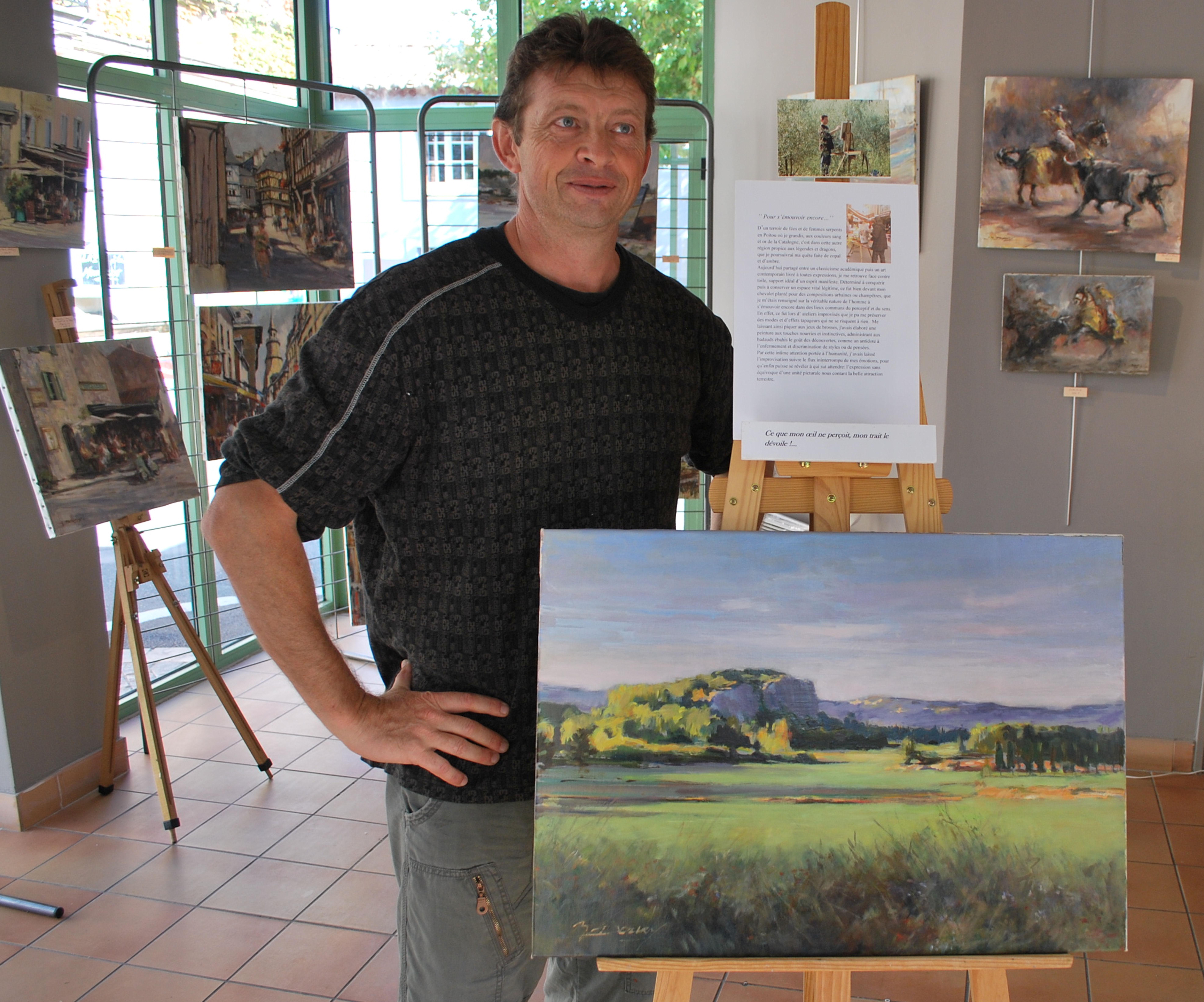 Expositions d 39 artistes de mai octobre office de - Office de tourisme maussane les alpilles ...